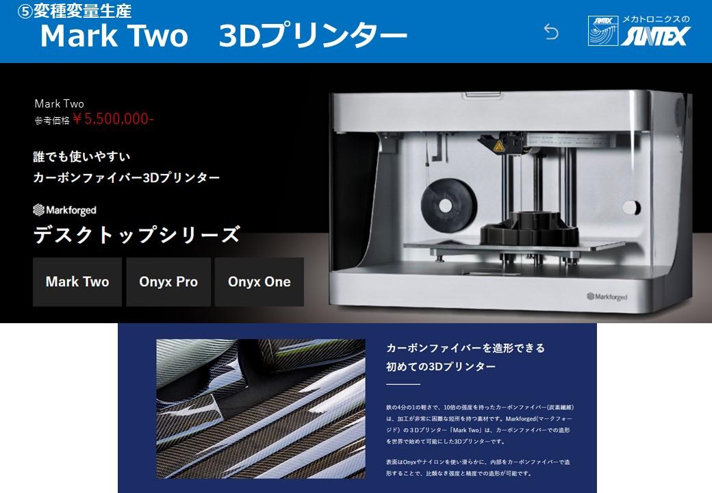 3Dプリンター Mark Two